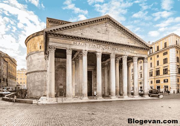 Pantheon, Pantheon di Roma, Kuil Pantheon