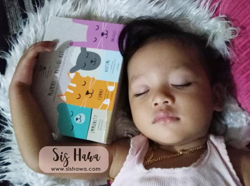 Minyak Mummy's Rescue Kit Roll On Audelia Naturals - Bantu Selamatkan Ibu Dari Masalah Anak