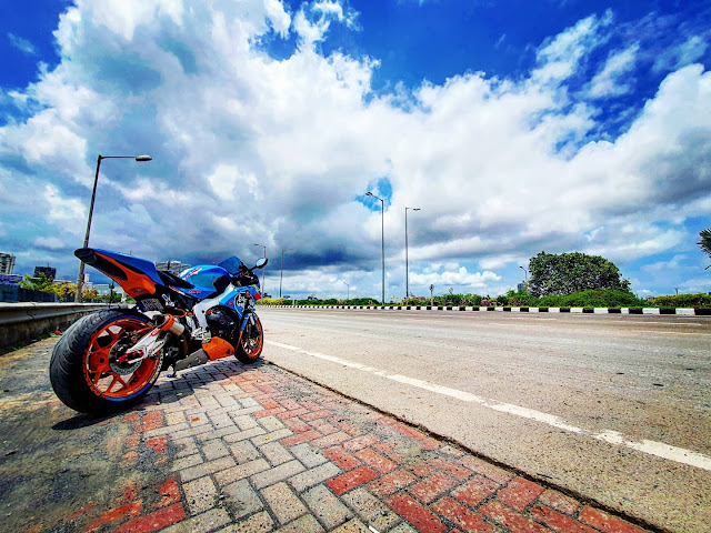 Only One in India Honda CBR 1000 RR Estrella Galicia Replica