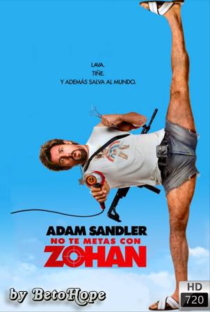 No Te Metas Con Zohan [720p] [Latino-Ingles] [MEGA]