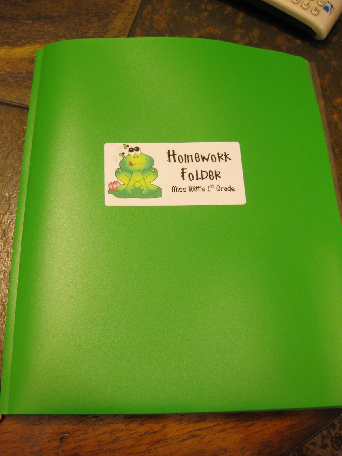 The Folder Of Cute Guys: First Grade Fairytales: Folders, Folders, Folders
