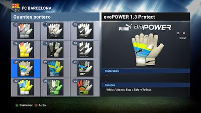 PES 2016 Gloves Pack Update April 2016