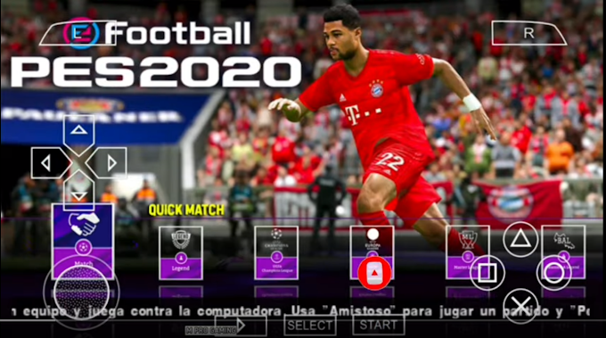 Download PES 2020 PPSSPP Camera PS4 Android Offline 600MB Best Graphics (New Transfers Update)