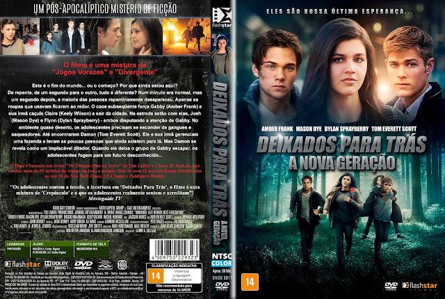 Capa DVD Deixados Para Trás A Nova Geração [Exclusiva]