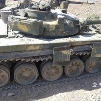 Άρμα μάχης της οργάνωσης Quwat al-Ghadab