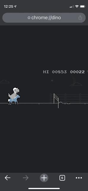 لعبة الديناصور