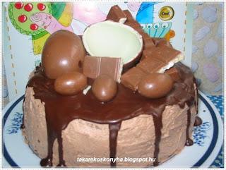 Csokitorta születésnaposunknak!