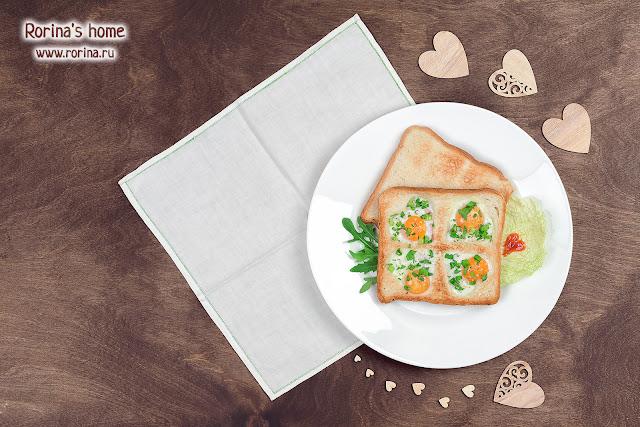 яичница из перепелиных яиц на завтрак: пошаговый рецепт