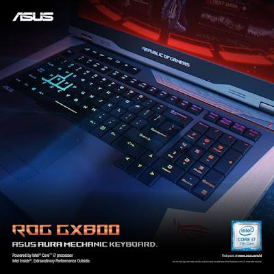 Keyboard Aura dengan 8 Juta Pilihan Warna