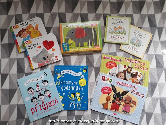 Przegląd książkowych nowości idealnych na Dzień Dziecka