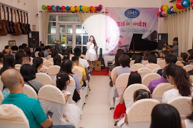 Khai Mạc Biểu diễn Quốc Tế Thiếu Nhi 01/06/2018 tại trường nhạc SMS
