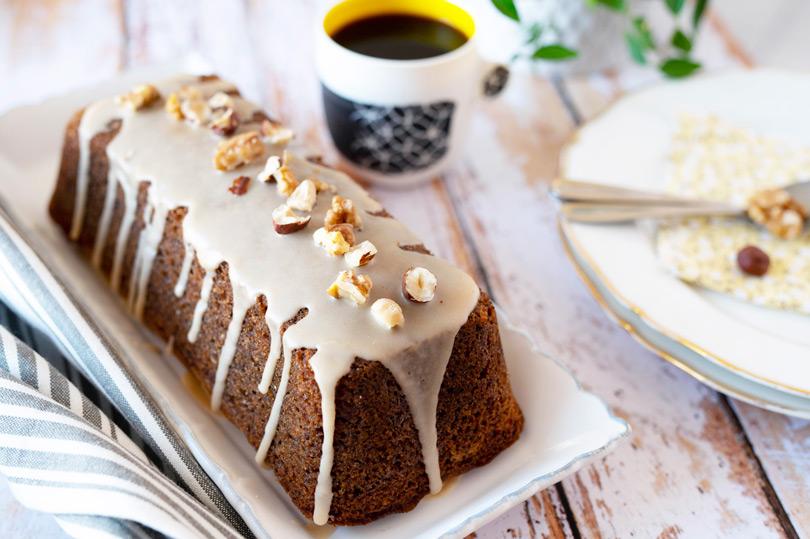 recette Gâteau cake noix et café