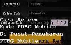 Cara Redeem Kode PUBG Mobile Di Pusat Penukaran PUBG Mobile 2