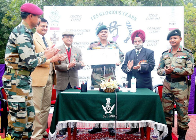 2nd battalion 3rd Gorkha Rifles celebrated 125th Raising Day