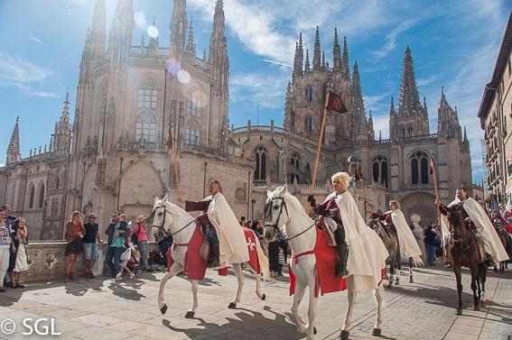 Desfie del fin de semana Cidiano. Burgos