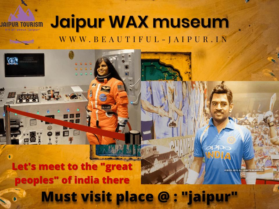 wax museum at jaipur