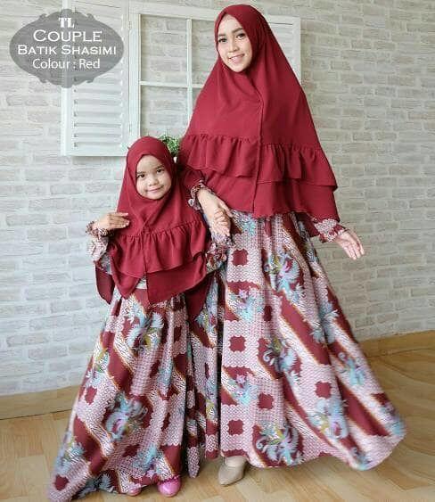 Referensi Baju Pesta Kondangan Pasangan Couple Ibu Dan Anak