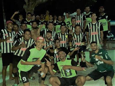 Santos foi o campeão do torneio do São Paulo no Sítio Santa Cruz