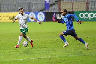اهداف مباراة المصري وسموحة (1-1) الدوري المصري