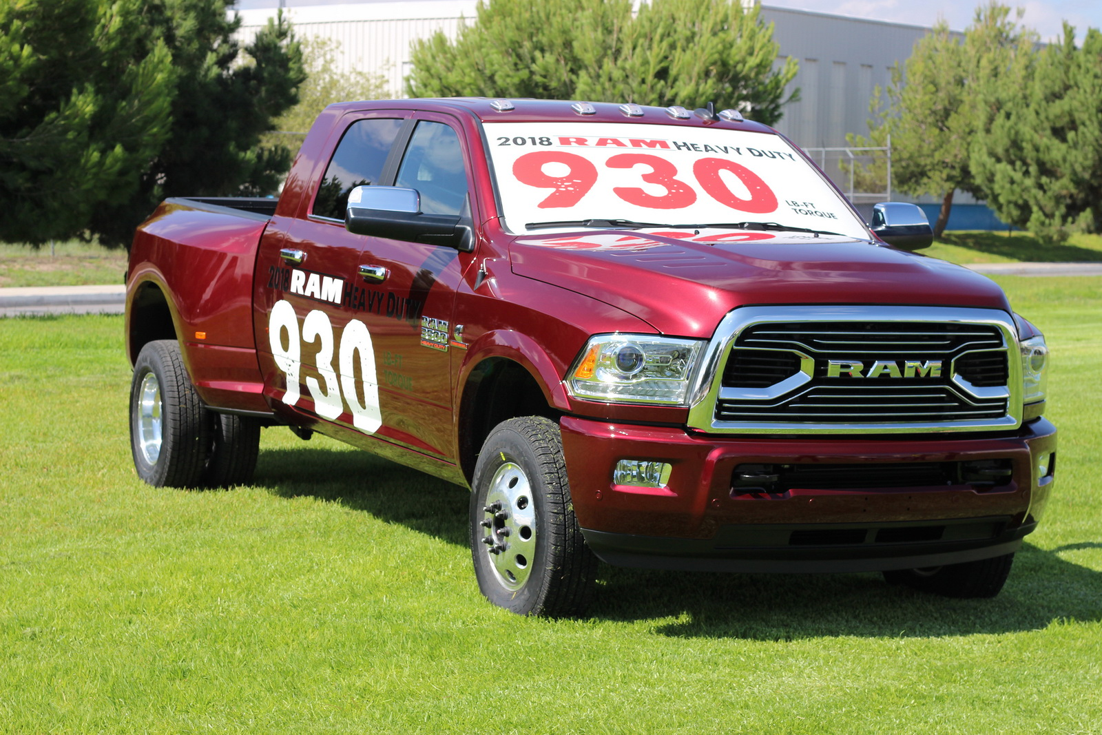 Ram Reveals 2018 3500 Heavy Duty, The Segment's Most Powerful Pickup Truck
