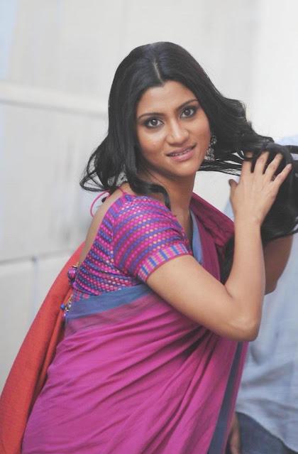 Konkona Sen Sharma Beautiful and Sweet in Traditional Saree Actress Trend