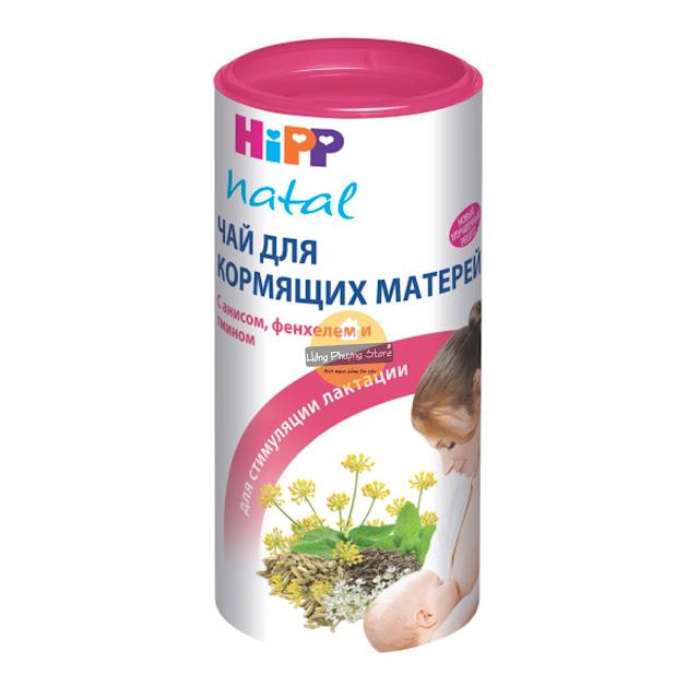 Trà HiPP lợi sữa cho sản phụ nuôi con