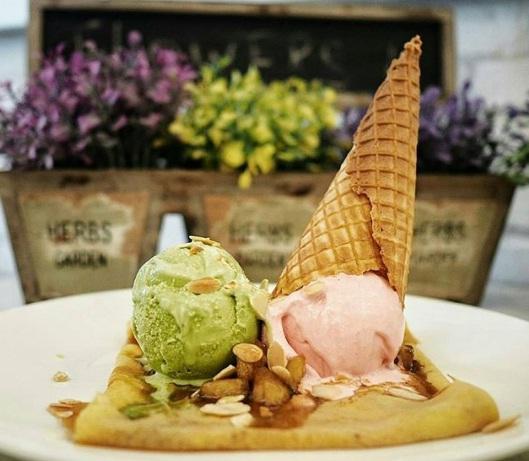 Ice cream La Ricchi Surabaya