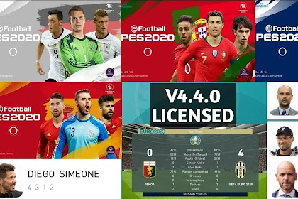 STS Euro 2020 V4.4.0 Patch Of PES 2020 Mobile By Stranger Shafiul (OBB+CPK)