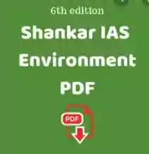 Shankar IAS Environment 6th Edition PDF