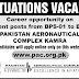 Pakistan Aeronautical Complex Kamra Attock 2018 Jobs