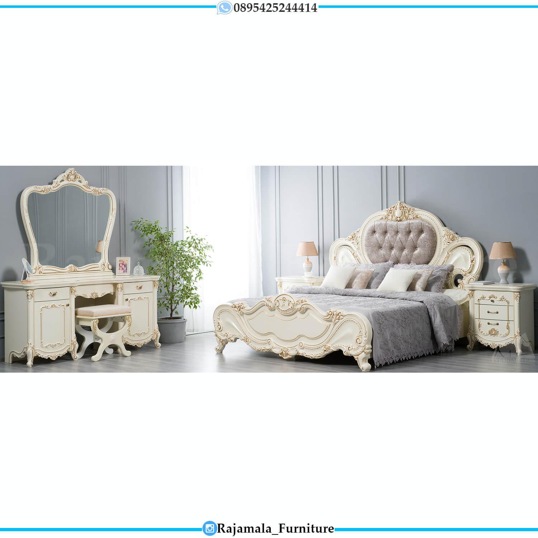 Kamar Set Mewah Virginia Furniture Jepara Classic Luxury Model RM-0227