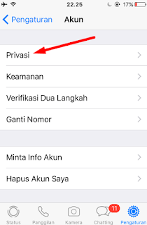 Tutorial Melihat Status Whatsapp Orang Lain Tanpa Ketahuan 4