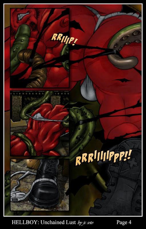 Hellboy gay porn