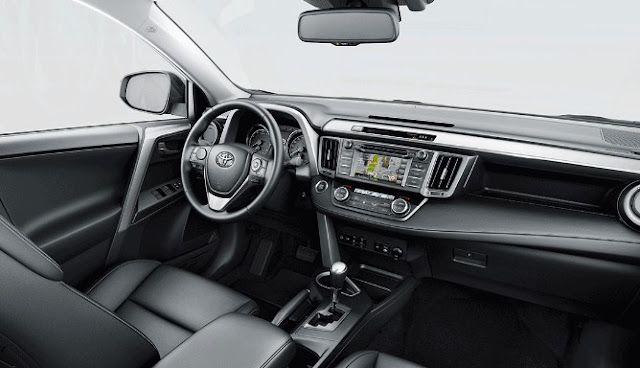 2018 Toyota RAV4 Interior and Features