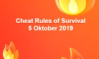 Link Download File Cheats Rules of Survival 5 OKtober 2019