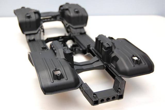 Traxxas TRX-4 chassis rear