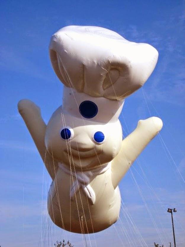 Pillsbury Doughboy balloon