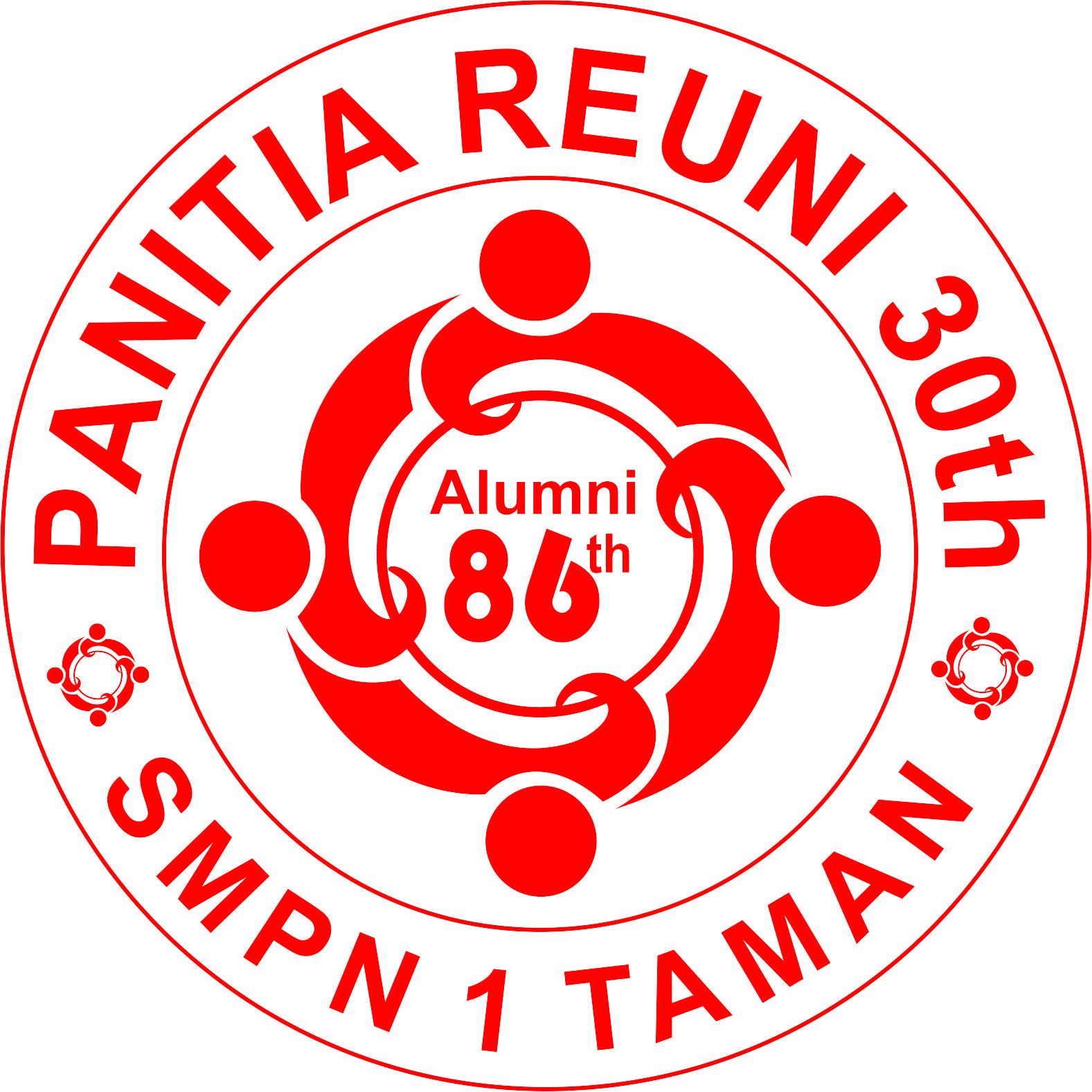 Panitia Reuni 30th SMPN1 Taman: Stempel Reuni30th SMPN1 TAMAN