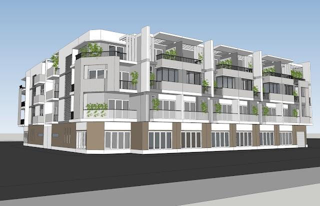 Điểm mới của dự án City Gate 3 là nổi bật đó là dãy nhà phố liền kề sang trọng