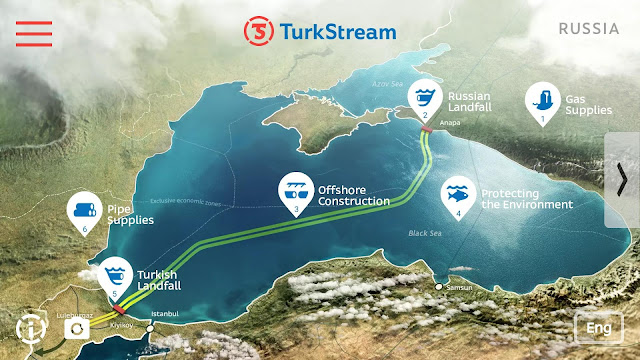 Erdogan y Putin abren Turkish Stream