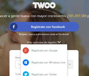 Twoo google