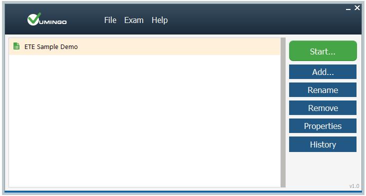 Exam Testing Engine (ETE) an Alternative to VCE Exam