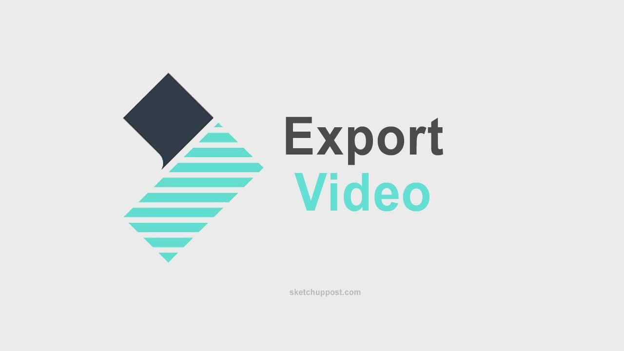 Cara Export Filmora Ukuran Kecil