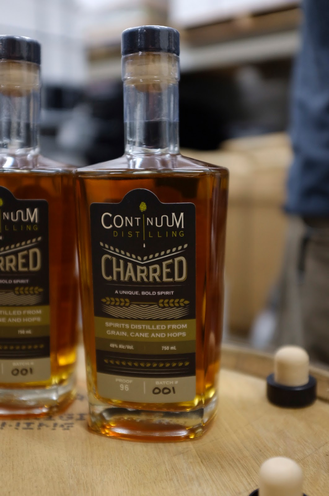 Continuum Distillery Charred whiskey | Local Food Rocks