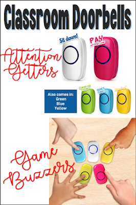 wireless classroom doorbell system attention getters classroom management system