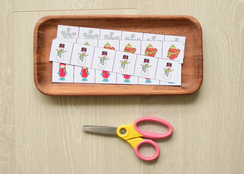 Winter Theme Learning Pack: Fine Motor Activities