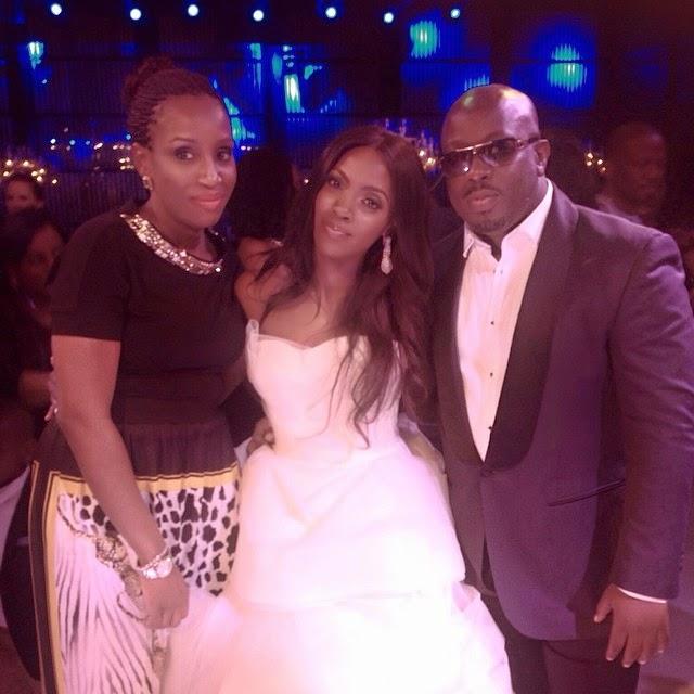 Tiwa Savage Weds Teebillz - The Wedding Dress, Photoshoot