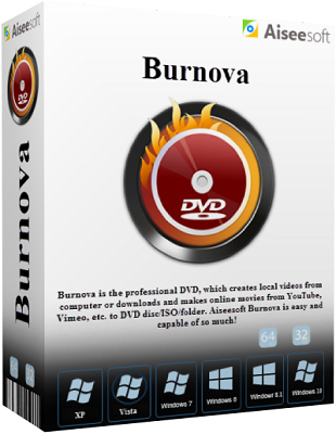 Aiseesoft Burnova 1.0.12 poster box cover