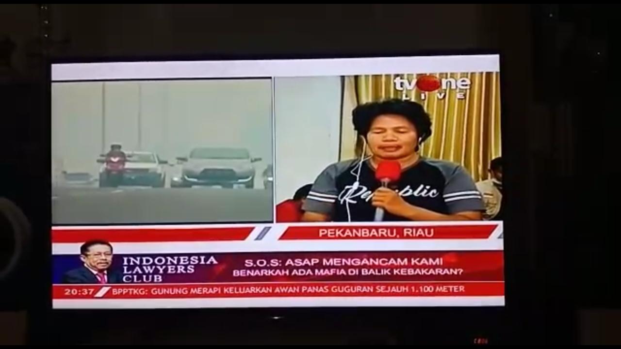 Korban Karhutla: PKS Tidak Pernah Tinggalkan Kami