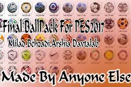 FINAL Ballpack 2020-2021 (50 Balls) - PES 2017